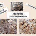 Speltbrood uit de broodbakmachine