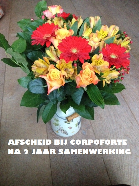 afscheidsbos bloemen