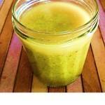kiwismoothie met spinazie en ananas